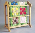 Country Quilt Rack Wood Plan