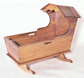 All Furniture Heritage Cradle Woodworking Plan