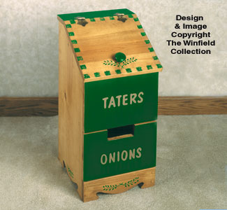 Indoor Furniture Amp Decor Tater Amp Onion Box Woodworking Plan