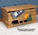 Black Bear Cedar Chest Wood Plans