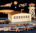 Aviation History in Wood Project Design Patterns