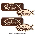 Inspirational Wall Plaques Pattern