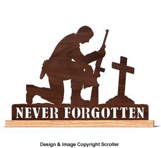 Never Forgotten Shelf Sitter Pattern