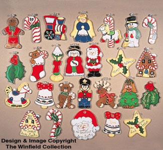 26 Christmas Ornaments Pattern