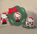 Santa Fever Woodcrafting Pattern
