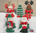 Sugar Plum Christmas Woodcraft Pattern