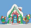 Santa's Toy Shop Woodcrafting Pattern