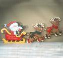 Santa's Sleigh Ride Woodcraft Pattern