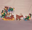 Prancers Toy Overload Woodcraft Pattern