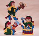 Santa's Elfin Daycare Woodcraft Pattern