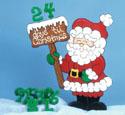 Countdown Santa Woodcraft Pattern