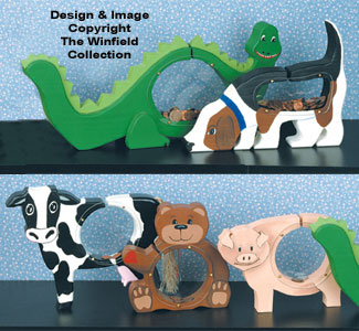 Animal Coin Banks Pattern