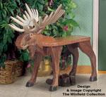 Moose Bench Wood Plan
