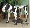 Cow Bench Woodcraft Pattern