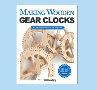 Making Wooden Gear Clocks Book