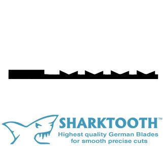 SHARKTOOTH <br>Scroll Saw Blades <br> Crown Tooth