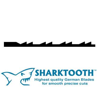 SHARKTOOTH <br>Scroll Saw Blades<br> Doubletooth