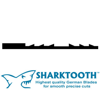 SHARKTOOTH <br>Scroll Saw Blades <br>Reverse Tooth