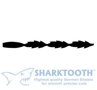 SHARKTOOTH <br>Scroll Saw Blades <br> Specialty Spiral