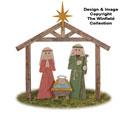Pallet Wood Nativity Pattern