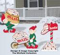 Fetching Santa's Mail Woodcraft Pattern