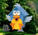 Silly Songbird Birdhouse Pattern