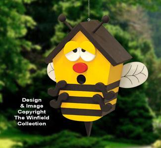 Bumblebee Birdhouse Pattern