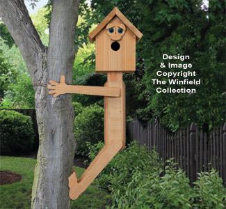 Tree Hugger Birdhouse Pattern