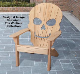 Wood Patterns Adirondack Skull Chair Plan
