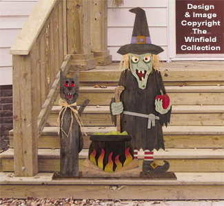 New Items - Pallet Wood Wicked Witch Pattern