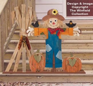 Pallet Wood Scarecrow Pattern