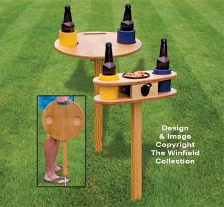 Lawn Drink Holders Pattern