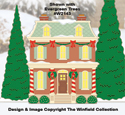 Christmas Village Mayor's Residence Pattern