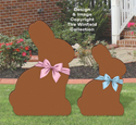 Milk Chocolate Bunnies Pattern