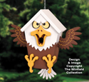 Edgy Eagle Birdhouse Pattern