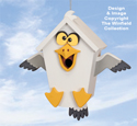 Goofy Gull Birdhouse Pattern