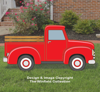 Red Truck Changeable Display Pattern