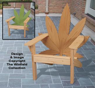 Cannabis Adirondack Chair Plan