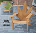 Cannabis Adirondack Chair Plan