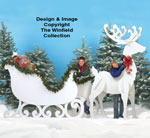 Gigantic Reindeer & Sleigh Patterns