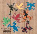 Funky Frogs Woodcraft Plan