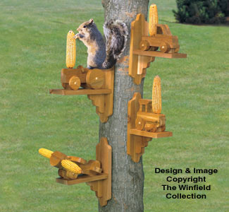 Other Yard Garden Projects Squirrel Feeders Woodcraft Plans