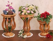 Scroll Saw Vases