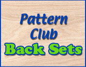 Pattern Club Back Sets