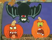 Pumpkins & Bats