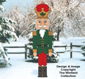 Giant Nutcracker Woodcrafting Pattern