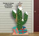Christmas Cactus Woodcrafting Pattern