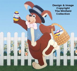 Dancing Rabbit Woodcraft Pattern