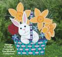 Easter Bunny Basket Woodcraft Pattern