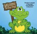 Ribbit Welcome Sign Woodcraft Pattern